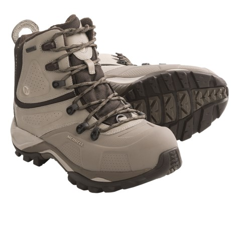 Merrell Whiteout 8 Snow Boots - Waterproof, Insulated (For Women) in Aluminum