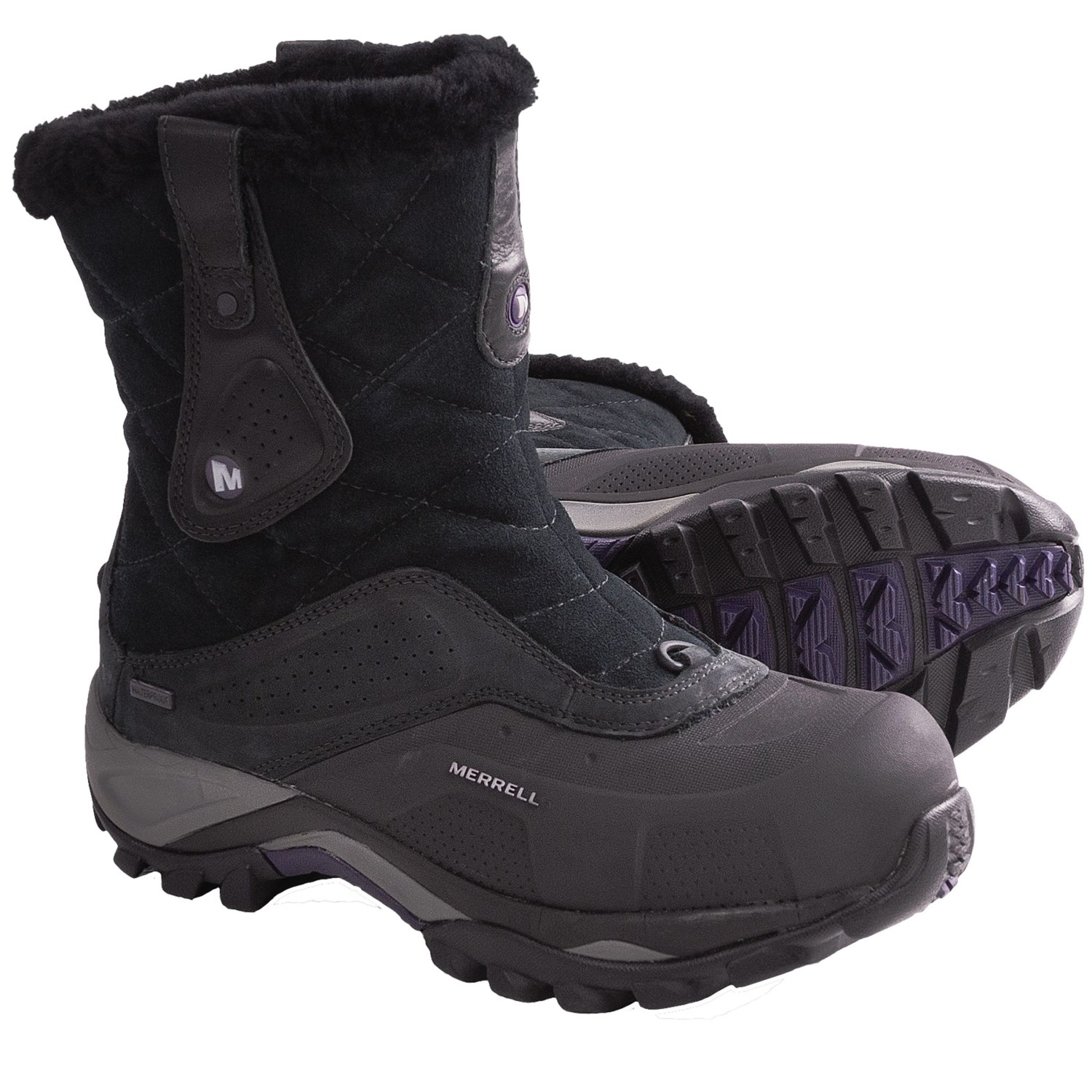 Excellent Merrell Snowfury Waterproof Womens Boots  Black At