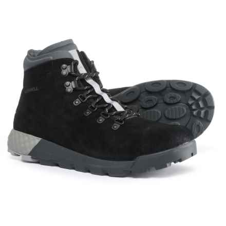 Merrell Wilderness AC+ Boots - Suede (For Men) in Black - Closeouts
