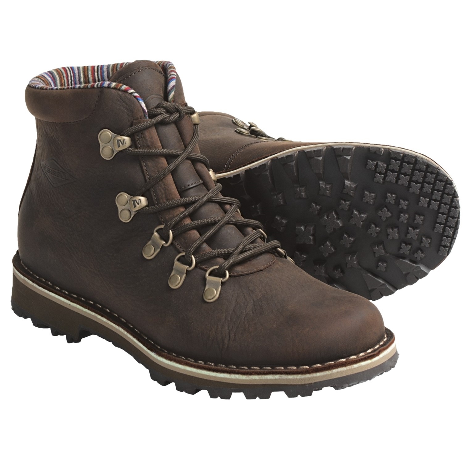 Merrell Wilderness Valley Lace Up Boots Leather