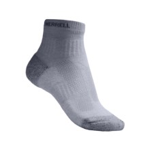 Merrell Windrush Trail Running Socks - CoolMax® Polyester, Lightweight (For Women) in Silver - 2nds