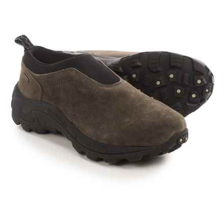Merrell Winter Moc II Shoes - Waterproof, Slip-Ons (For Men) in Gunsmoke - Closeouts