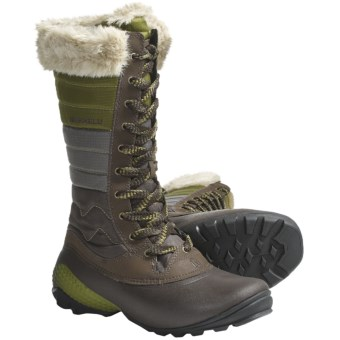 Merrell Winterbelle Boots - Waterproof, Insulated (For Women) in Brown