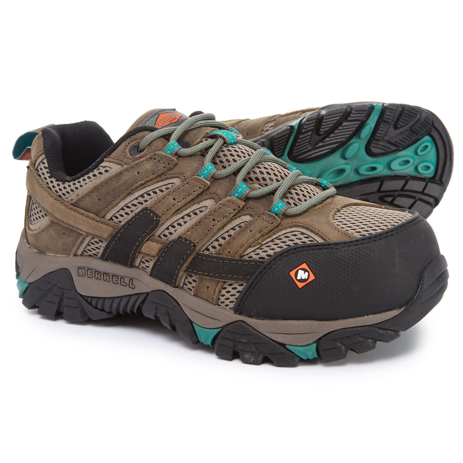 173c00cfcd Merrell Work Moab 2 Vent Low Shoes (For Women) - Save 49%