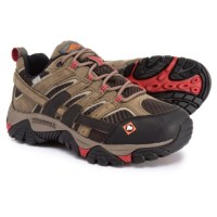 Deals on Merrell Womens Work Moab 2 Vent Low Waterproof Shoes