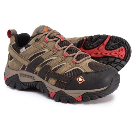 932b8ace5ed Merrell Work Moab 2 Vent Low Shoes - Waterproof (For Women) in Boulder