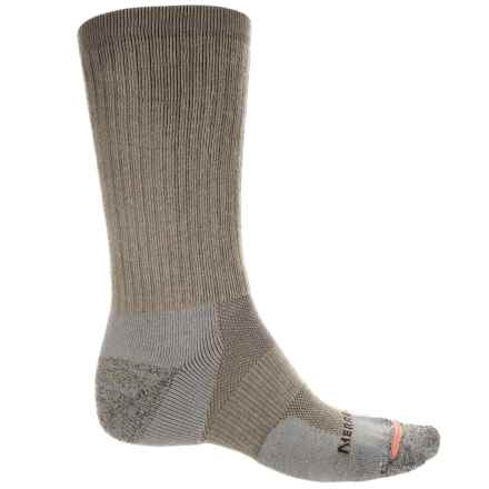 Merrell Work Socks - Crew (For Men) in Brindle - Closeouts