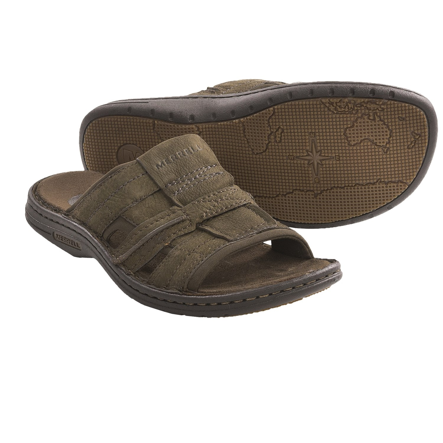 Merrell World Mission Sandals Leather For Men Save 25