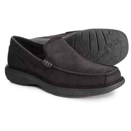 Merrell World Vue Venitian Moccasins - Slip-Ons (For Men) in Black