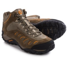 Merrell Yokota Pulse Mid Hiking Boots - Waterproof (For Men) in Canteen/Marmalade - Closeouts
