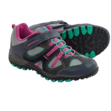 Merrell Yokota Trail Ventilator A/C Hiking Shoes (For Big Kids) in Grey/Pink - Closeouts