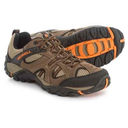 Merrell Yokota Trail Ventilator Hiking Shoes (For Men) in Merrell Stone/Burnt Orange - Closeouts