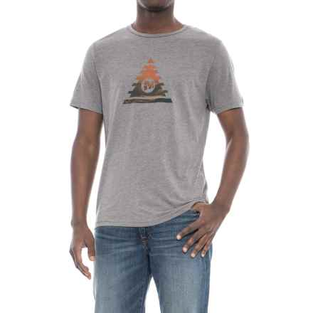 Merrell Zenith T-Shirt - Short Sleeve (For Men) in Grey Heather - Closeouts