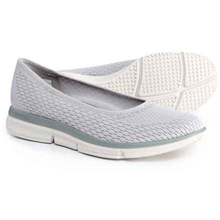 Merrell Zoe Sojourn E-Mesh Ballet Flats - Slip-Ons (For Women) in High Rise - Closeouts