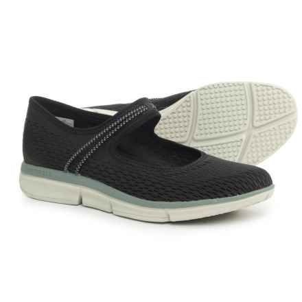 Merrell Zoe Sojourn E-Mesh Q2 Mary Jane Shoes - Slip-Ons (For Women) in Black - Closeouts