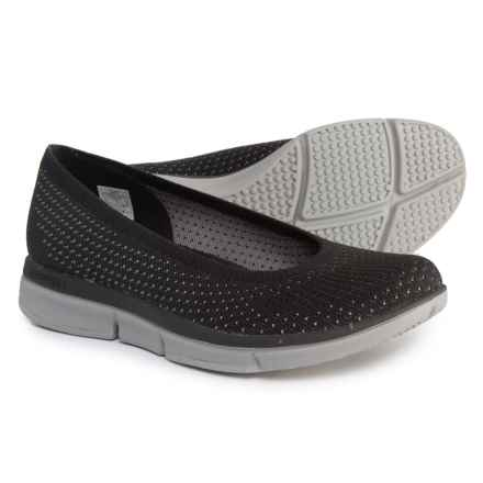 Merrell Zoe Sojourn Knit Ballet Flats - Slip-Ons (For Women) in Black/Grey - Closeouts