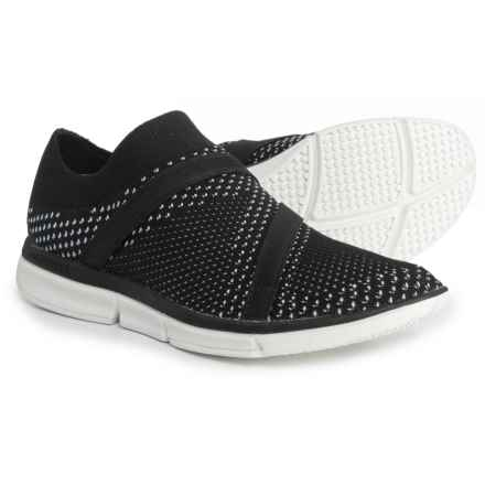 Merrell Zoe Sojourn Knit Q2 Sneakers - Slip-Ons (For Women) in Black - Closeouts
