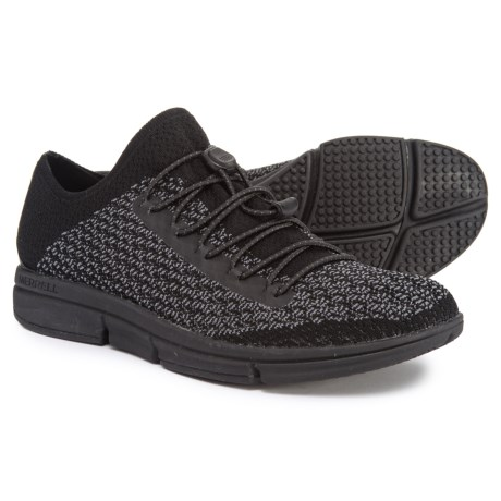 f70d4ce454e9 Merrell Zoe Sojourn Lace Knit Q2 Sneakers (For Women) in Black Castle Rock