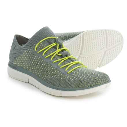 Merrell Zoe Sojourn Lace Knit Q2 Sneakers - Slip-Ons (For Women) in Monument - Closeouts