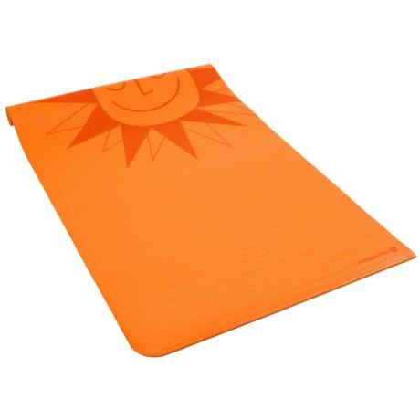 Merrithew Funshine Yoga and Exercise Mat - 4mm (For Kids) in Orange