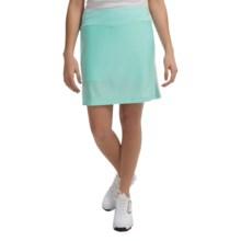 Mesh Golf Skort (For Women) in Aqua - 2nds