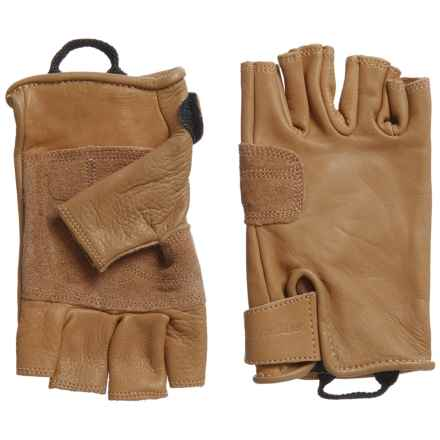 Metolius Climbing Gloves - Fingerless (For Men and Women) in Natural - Closeouts