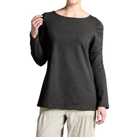 Metro Shirt - Stretch Cotton, Long Sleeve (For Women)