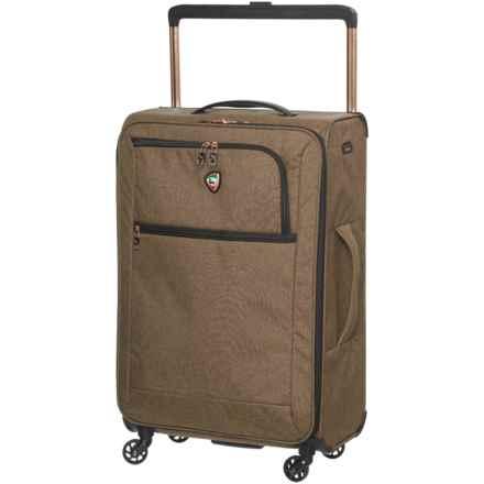 "Mia Toro 24"" Kitelite Cirro Spinner Suitcase - Softside in Brown - Closeouts"