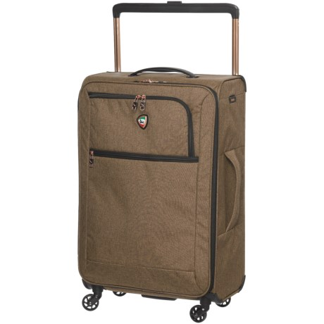 "Mia Toro Kitelite Cirro Spinner Suitcase - Softside, 24"" in Brown"