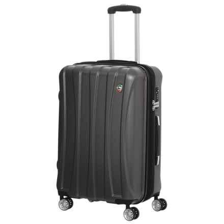 "Mia Toro Tasca Fusion Spinner Suitcase - Hardside, 29"" in Black - Closeouts"