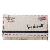 """Miamica """"See The World"""" File and Fly Travel Document Organizer"""