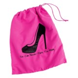 """Miamica """"You Can Never Have Too Many"""" Shoe Bag"""