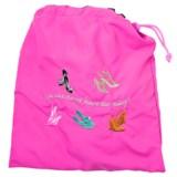 Miamica Embroidered Shoe Bag