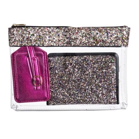 Miamica Multi Chunky Glitter Travel Set - 3-Piece in Multi
