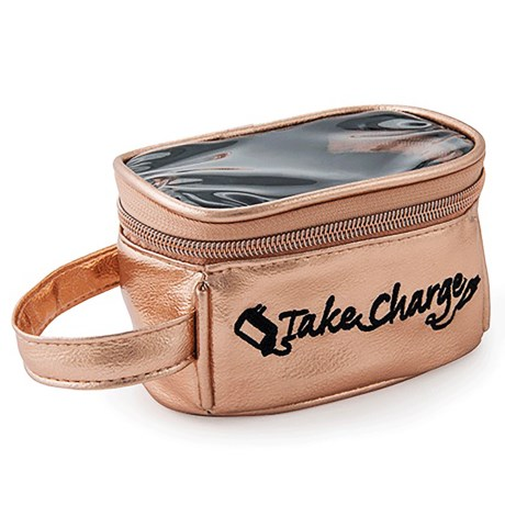 Miamica Take Charge Organizer Case in Rose Gold