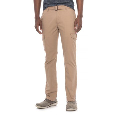 Michael Brandon Belted Cargo Pants (For Men) in Tan