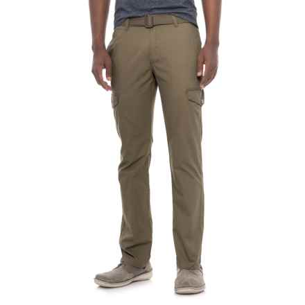Michael Brandon Belted Cargo Pants (For Men) in Taupe - Closeouts