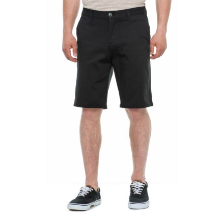 328c7b3740d9b Michael Brandon Stretch Twill Shorts (For Men) in Black - Overstock