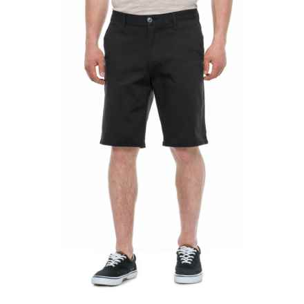 d90010ed1d Michael Brandon Stretch Twill Shorts (For Men) in Black - Overstock · Quick  View