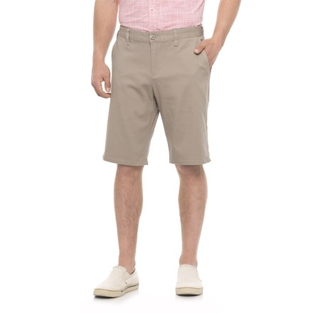 db3ad0fe35 Michael Brandon Stretch Twill Shorts (For Men) in Sand - Overstock