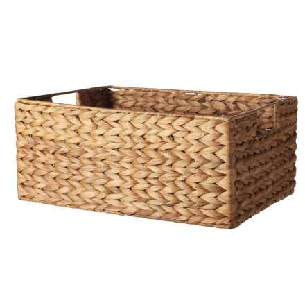 Michael Graves Rectangle Storage Bin - Large in Natural - Closeouts