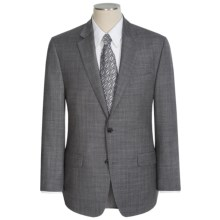 Michael Kors Subtle Windowpane Suit - Wool (For Men) in Grey Windowpane - Closeouts