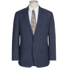 Michael Kors Tonal Glen Plaid Suit - Wool (For Men) in Blue - Closeouts