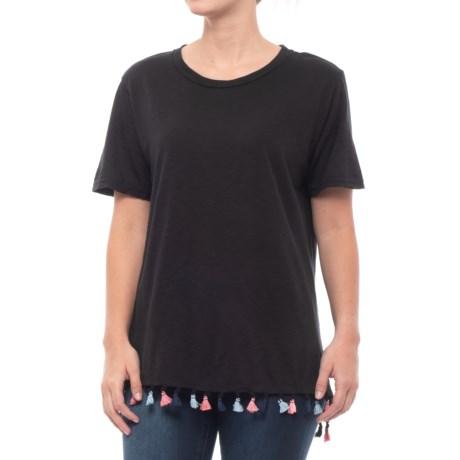 Michael Stars Boyfriend T-Shirt - Short Sleeve (For Women) in Black