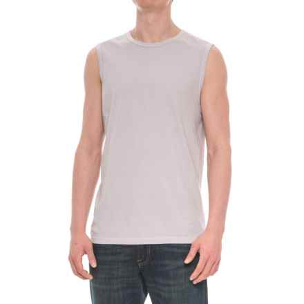 Michael Stars Cotton Tank Top (For Men) in Ether - Closeouts