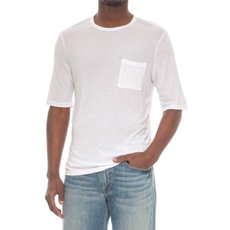 Michael Stars Crew Neck Pocket T-Shirt - Short Sleeve (For Men)