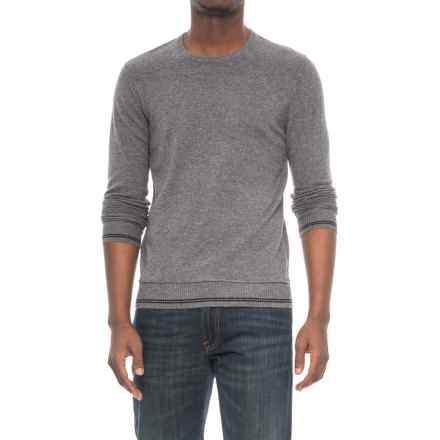 Michael Stars Crew Neck Sweater (For Men) in Derby Grey - Closeouts