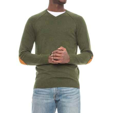 Michael Stars Elbow Pad Sweater - Wool (For  Men) in Cargo - Closeouts