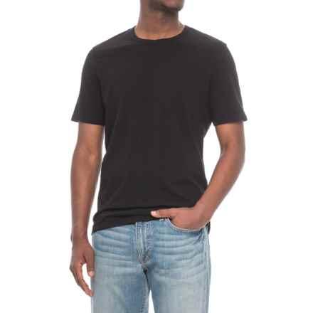 Michael Stars Linen Jersey T-Shirt - Short Sleeve (For Men) in Black - Closeouts