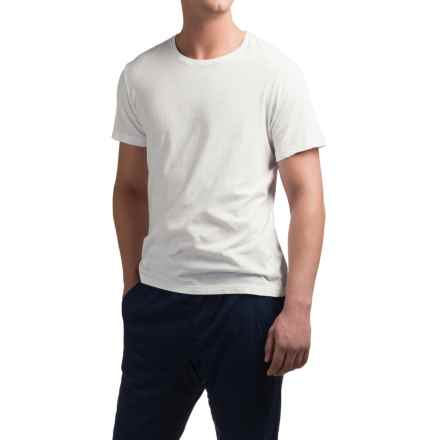 Michael Stars Pacific T-Shirt - Short Sleeve (For Men) in White - Closeouts